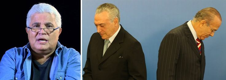 SUED E PROSPERIDADE: GLOBO COMEÇA A RIFAR TEMER E NOBLAT DIZ QUE ELE SU...