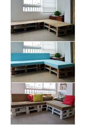 @Felicity Gill's DIY Furniture board | Clipboard- make couch out of wooden pallets. free on craigslist
