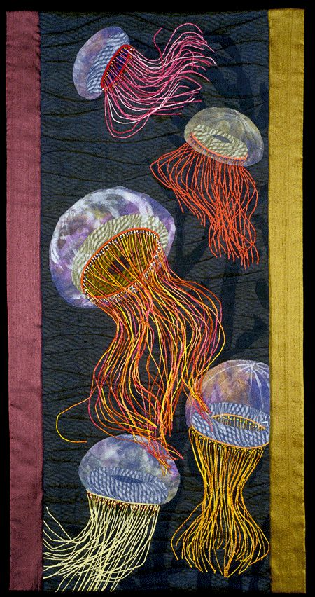 "Ballet de Mer (Ballet of the Sea)"" by Mary Berdan - loving the jellies!"