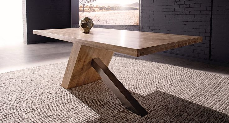 Dining table from Nick Scali -Brisbane. Love this change up in design.