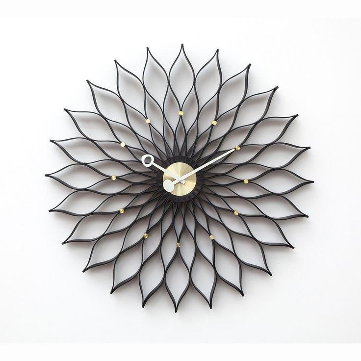 The Flower Wall Clock