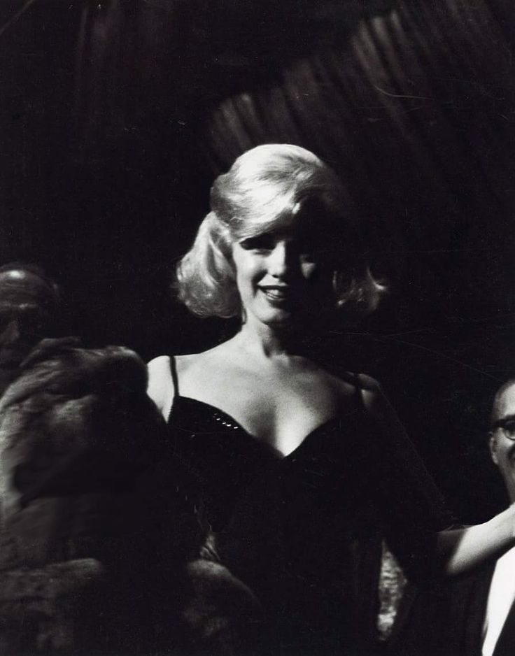 Marilyn at the Actor's Studio Benefit at Roseland Dance Hall, March 13, 1961.