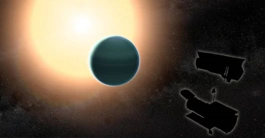 Unexpectedly Primitive Atmosphere Found Around 'Warm Neptune' A study combining observations from NASA's Hubble and Spitzer space telescopes reveals tha... - Tomasz Nowakowski (Astro Watch) - Google+