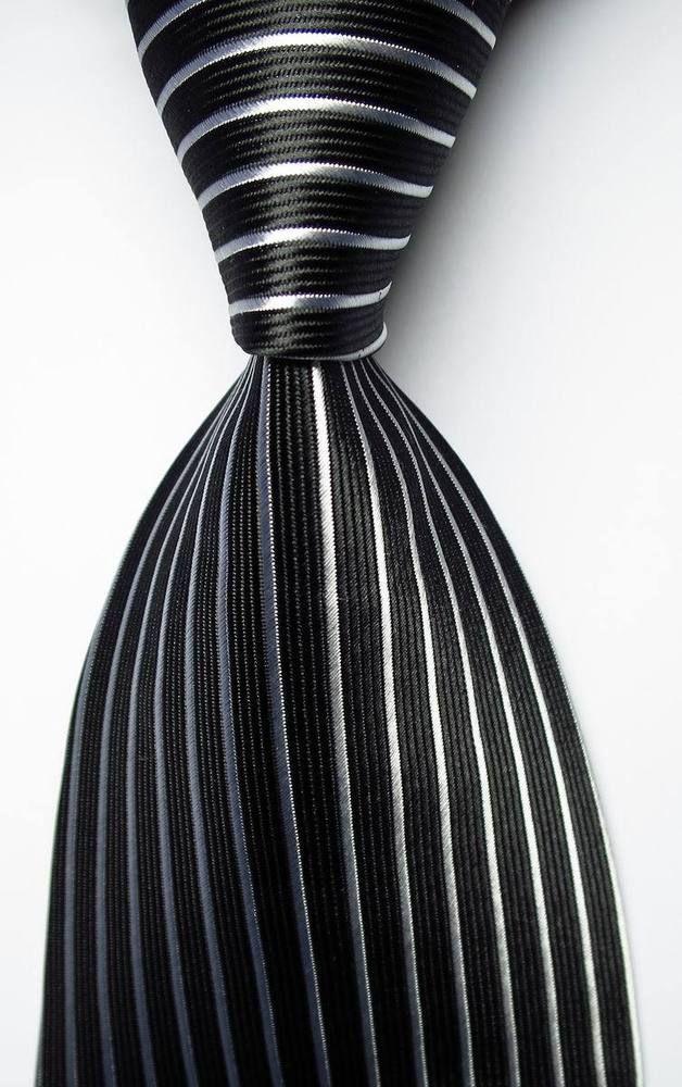 New Classic Polka Dot Black Red JACQUARD WOVEN 100/% Silk Men/'s Tie Necktie