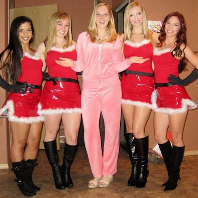 These Mean Girls costumes are totally fetch.