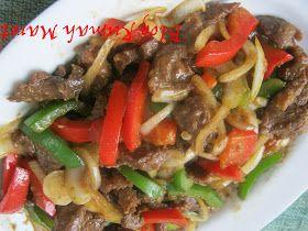 Rumah Maret: Resep Beef Yakiniku aka Daging Masak Paprika