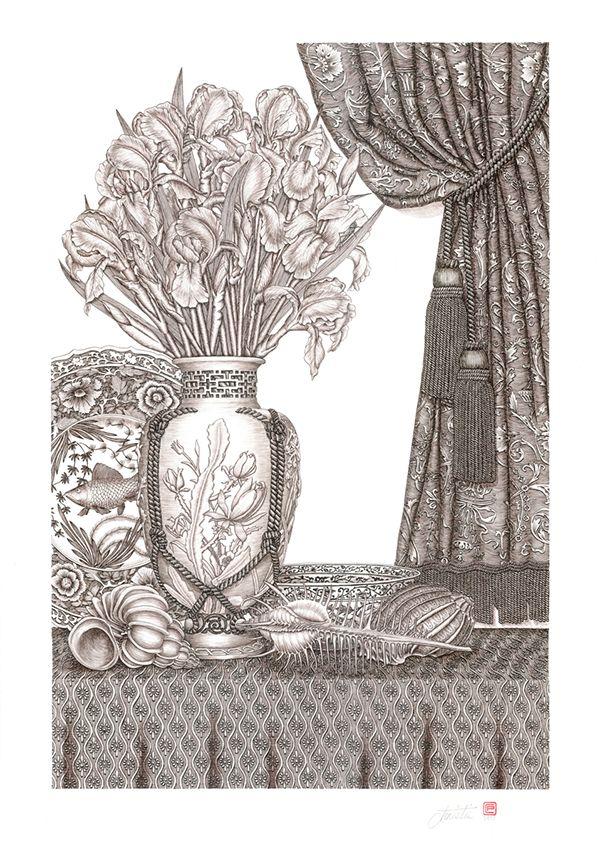 Patrick Christie Ink Portfolio On Behance