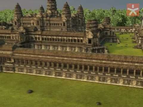 A 3D view of Angkor