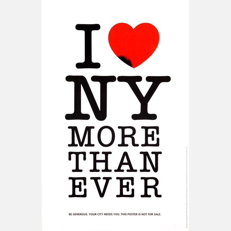 (53) Fab.com | I Love NY More Than Ever Print