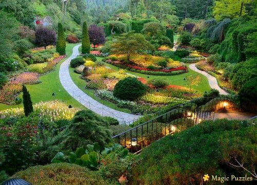 Pretty Garden View