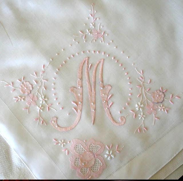 Embroidery - Monogram - M