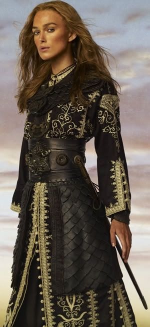 Elizabeth Swann's Singapore costume from POTC: At Worlds End