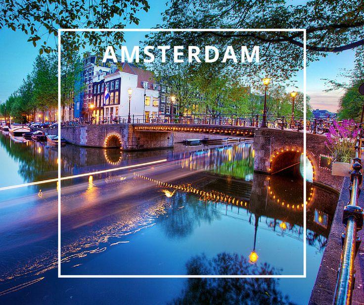 Amsterdam Copyright Daniel Peckham - One of your best destinations in Europe. More inspiration on www.europeanbestdestinations.org #Travel #Europe #Europeanbestdestinations #Trip
