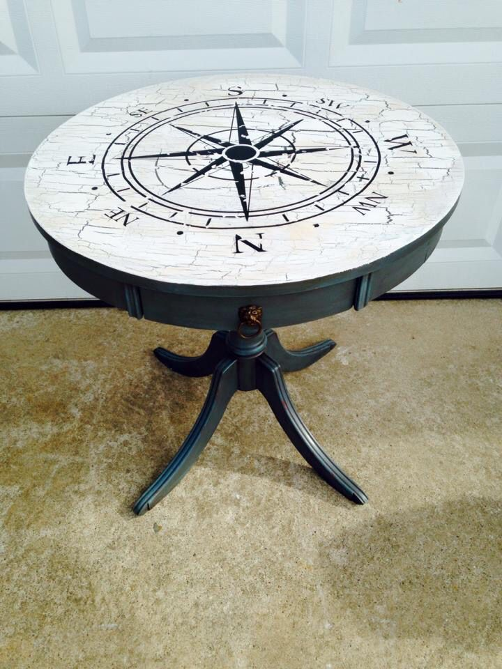 Refurbished end table.