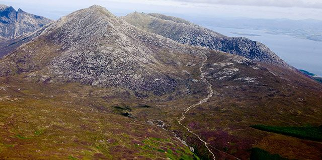 On the Isle of Arran the Trust cares for Goatfell, which at 2,866ft, is the highest peak on Arran #NTSIslands
