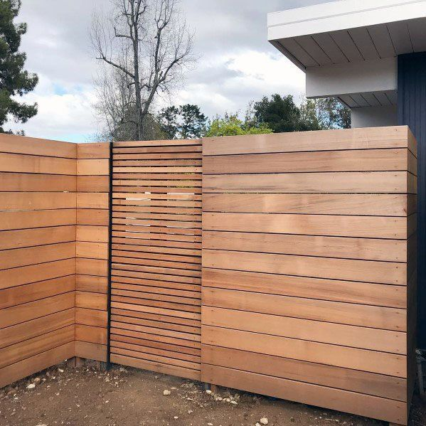 Top 60 Best Modern Fence Ideas Contemporary Outdoor Designs Modern Fence Design Modern Wood Fence Wood Fence Design