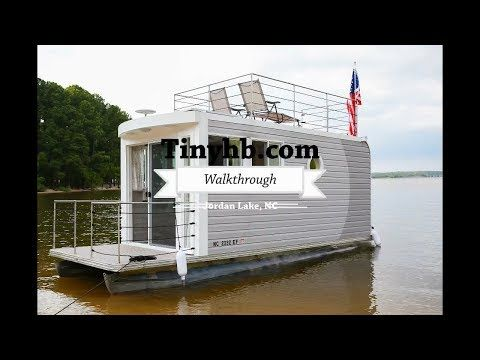 Life On The Water In A Tiny House Boat Youtube