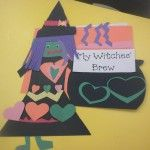 Witches' Brew writing activity