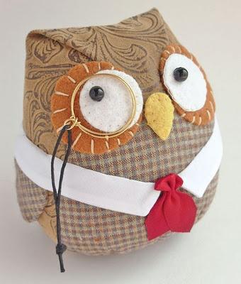 educated owl softie!  <3