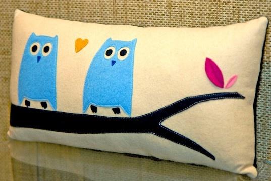 #Owl Pillows, Little Owls, Animal Attraction, Owls Cushions, Owls Pillows, Felt Pillows, Throw Pillows, Decor Pillows, Owls Decor