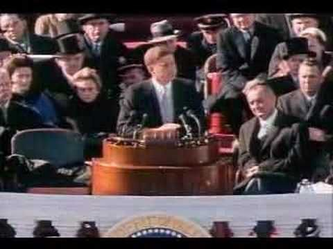 Watch the Inaugural Address of John F. Kennedy - Part 2