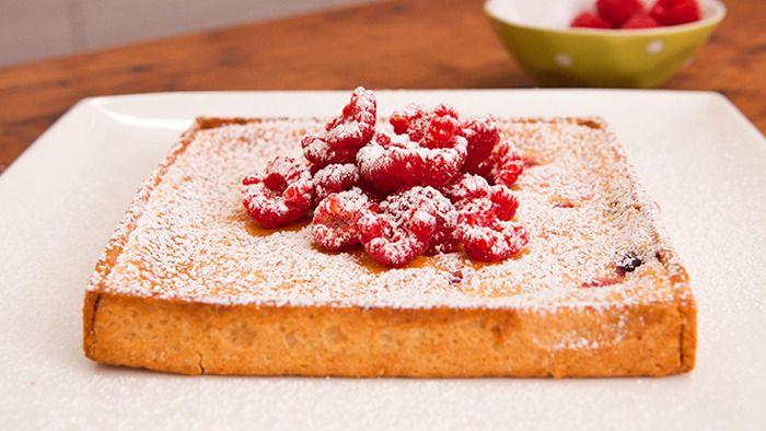 Everyday Gourmet - Berry Crème Fraiche Tart by Kirsten Tibballs