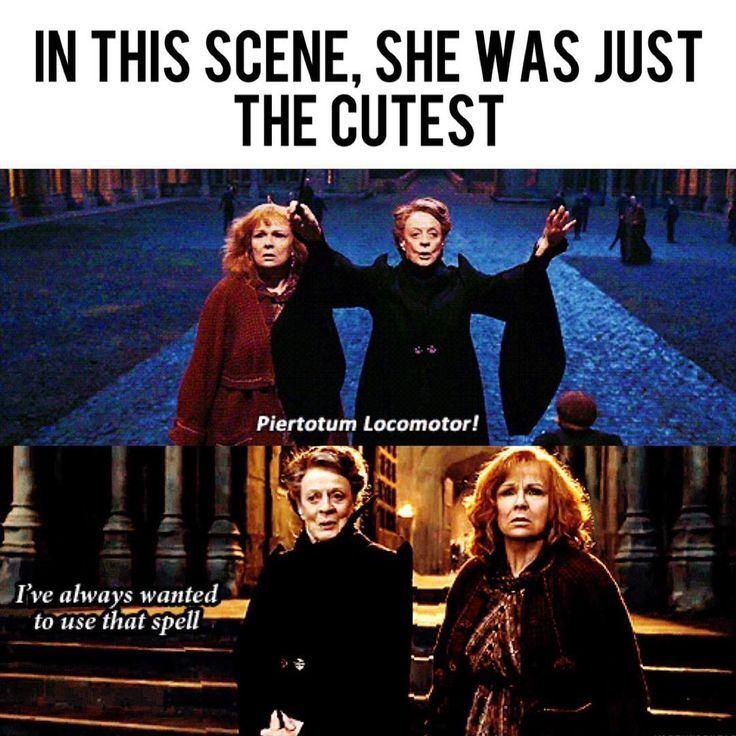"""Harry Potter memes on Instagram: """"Aww Minerva ….."""