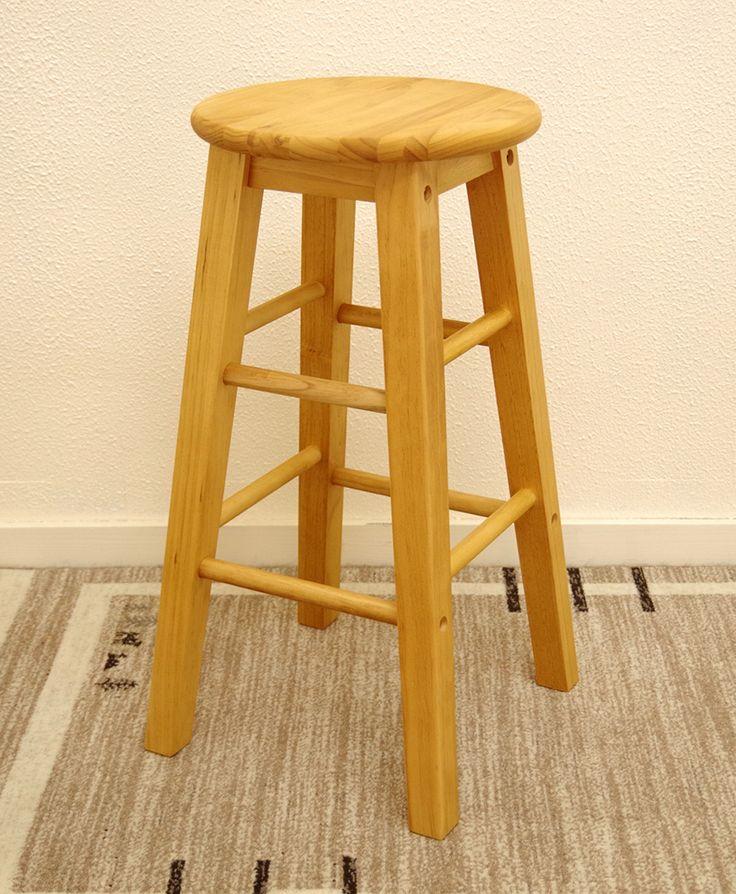 座面60cmの木製スツール【椅子屋】