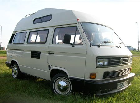 This is our VW T25 'Rosie'