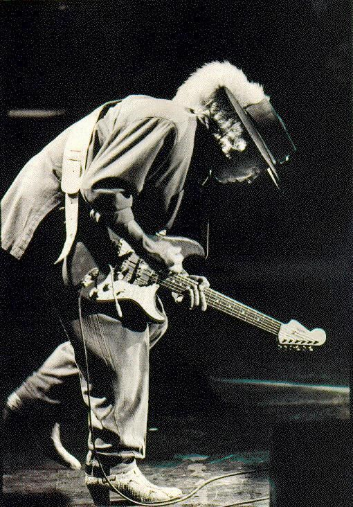 Stevie Ray Vaughn...this image could be in so many of my boards..Head Dress, Iconic, Imagine the Image, Graphic, Passion For Fashion, Change your Shoes Change your Life....and on