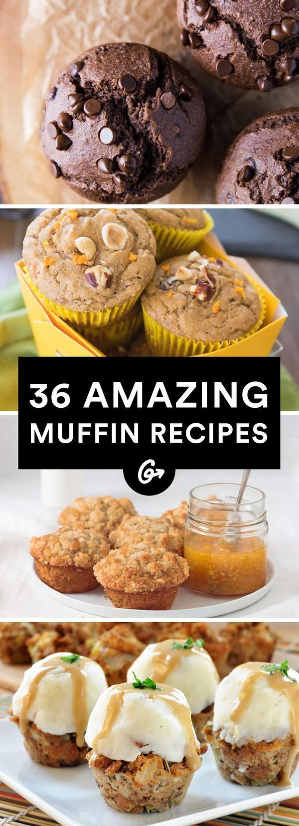 Muffins tend to get bad press, as they're usually just cupcakes without the frosting, but Greatist complied a bunch of muffin recipes that are actually pretty good for you! Let's get baking!