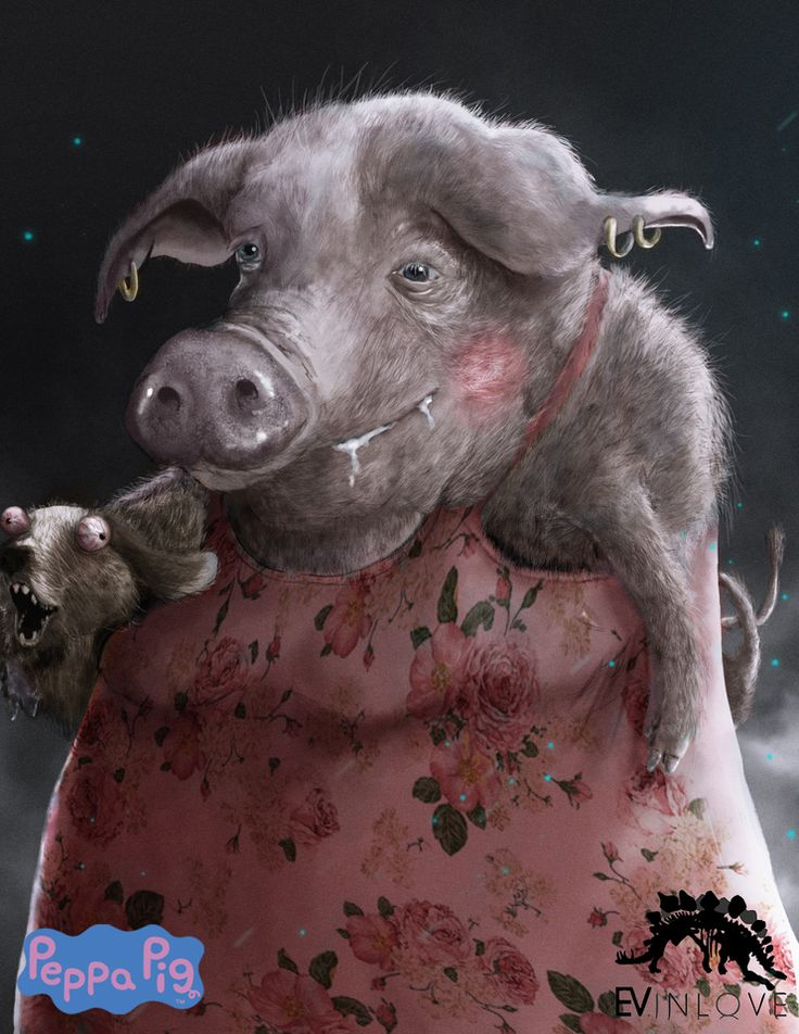 Introducing Evil Peppa Pig She Ll Freak You Out Art By