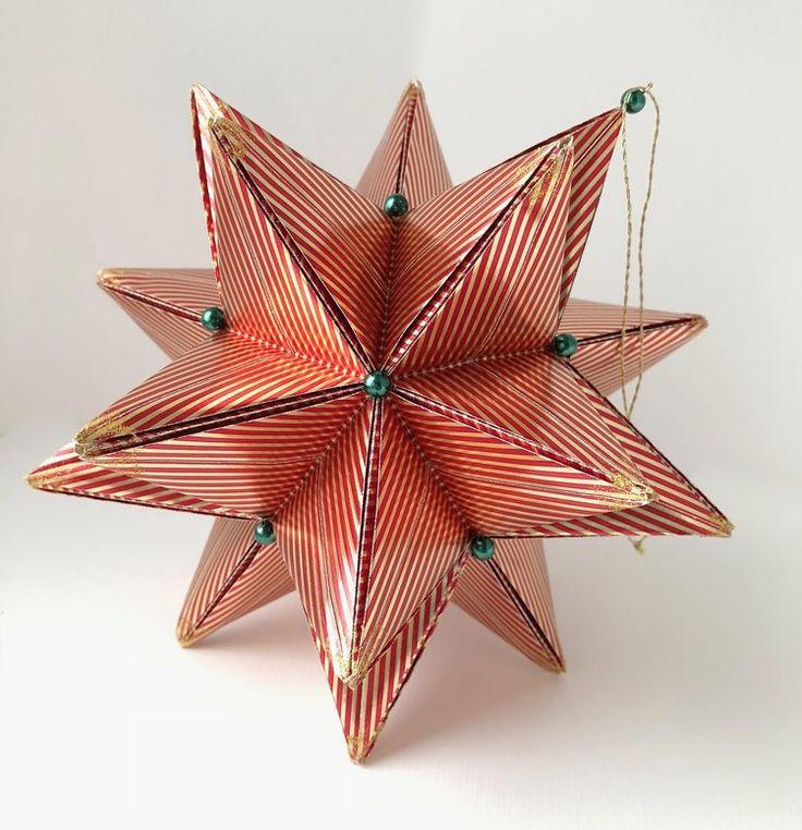 Rising Star shiny stripes Amazing GiftsHoliday DecorationsOrigamiStripes