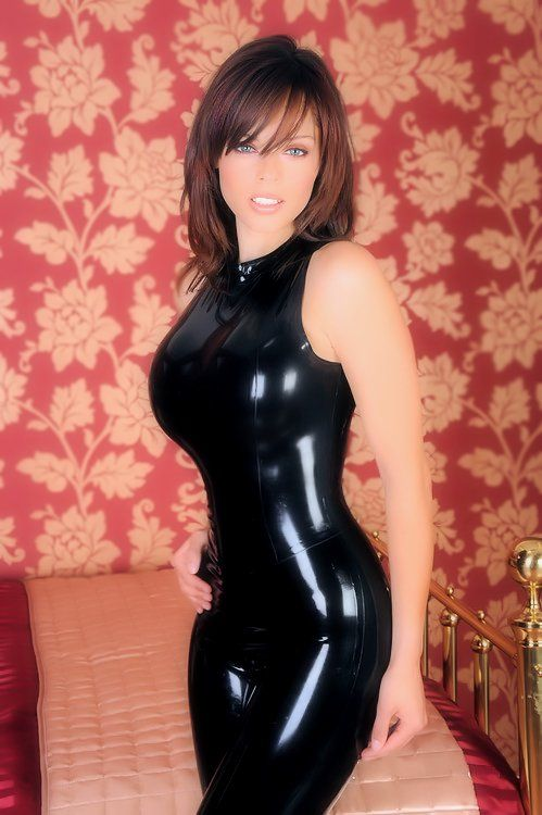 Latex fetish sex in clothes
