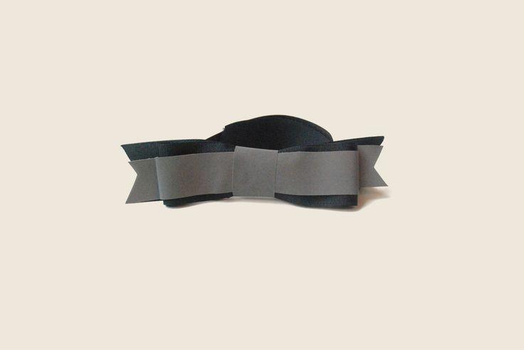 bike helmet reflector bow