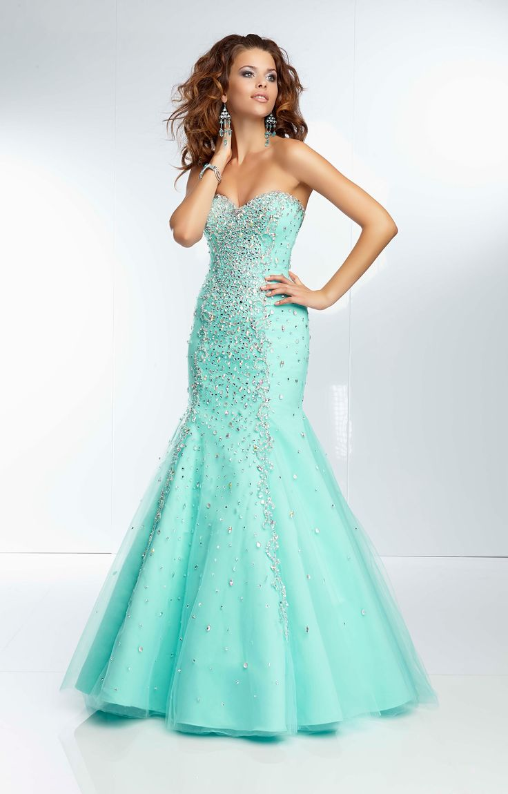 101 best Mermaid Prom Dresses images on Pinterest | Party wear ...