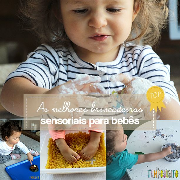 Neste post você encontra as melhores brincadeiras sensoriais feitas pelo Tempojunto com bebês de 18 a 24 meses. Tem grãos,…