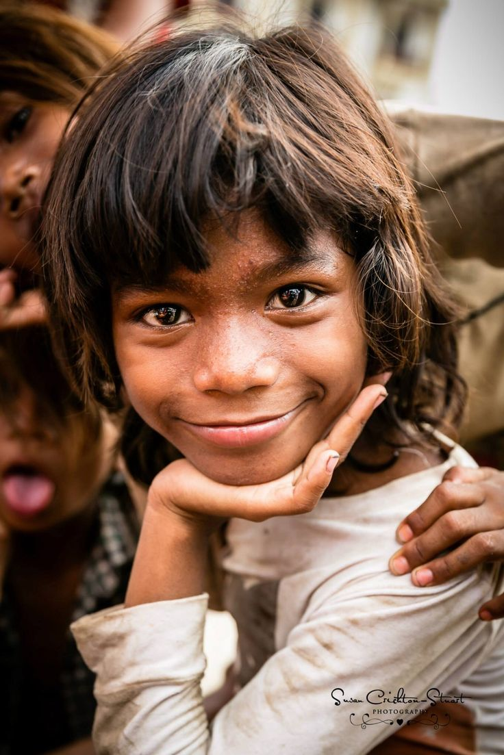 Little Street Girl in Siem Reap, Cambodia. ~ Susan Crichton-Stuart