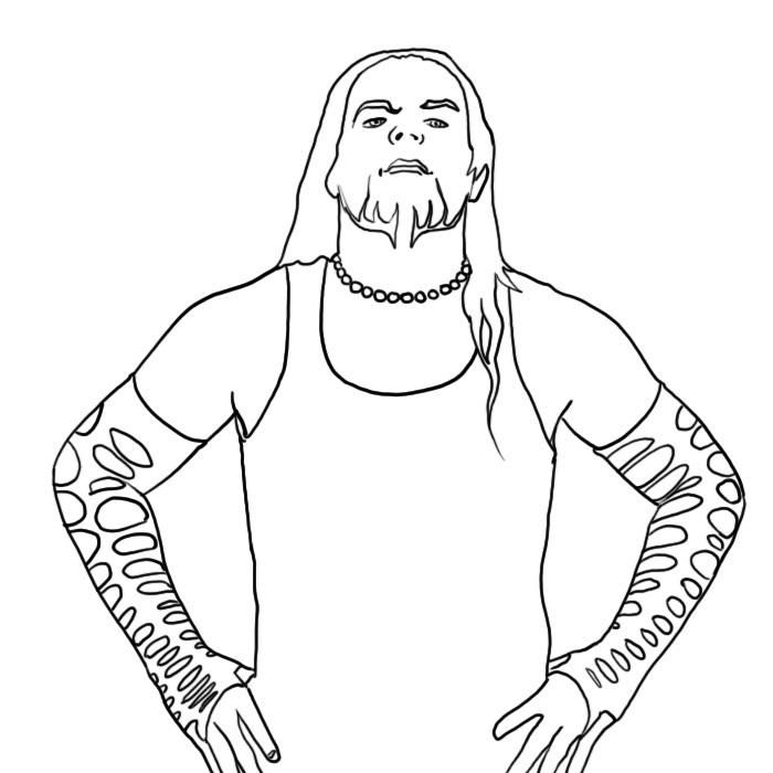 Wwe Coloring Pages Jeff Hardy Wwe Coloring Pages Coloring Pages