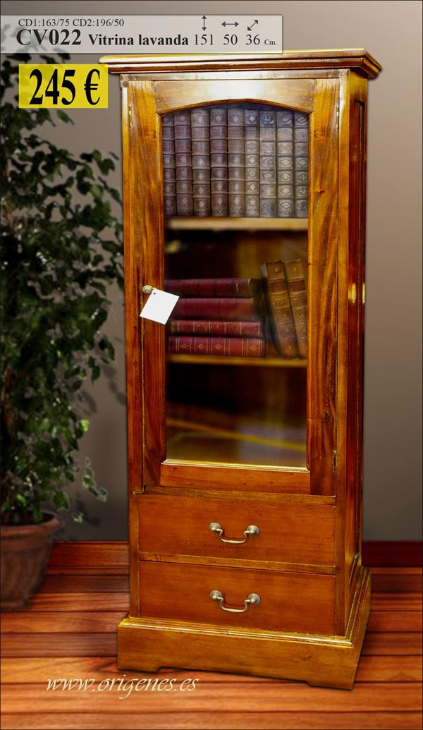 Organizador De Baño Homecenter:muebles coloniales vitrina 245€