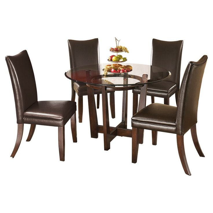 Ashley Furniture Glass Dining Sets 20 best dining room furniture images on pinterest | dining room