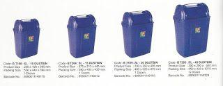 Selatan Jaya distributor barang plastik Surabaya: Tempat Sampah plastik SL-10 merk maspion kode BT18...