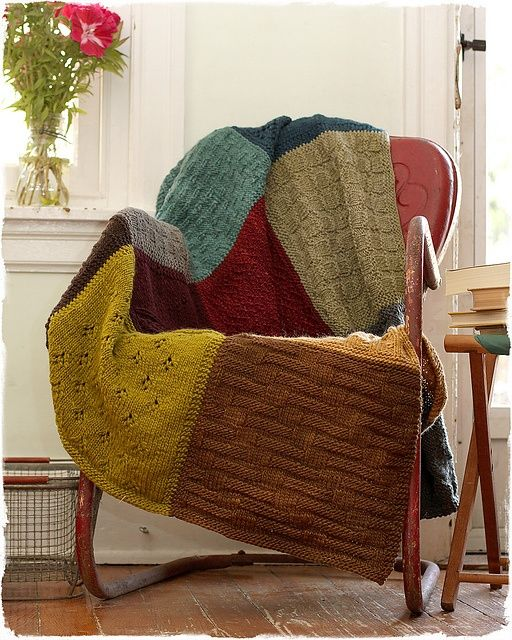 Old Sweater Blanket. LOVE!.