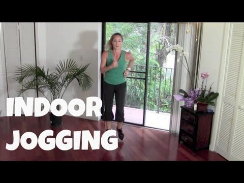 Walking Exercise - Indoor Jogging (power walking, running, cardio, fat b...