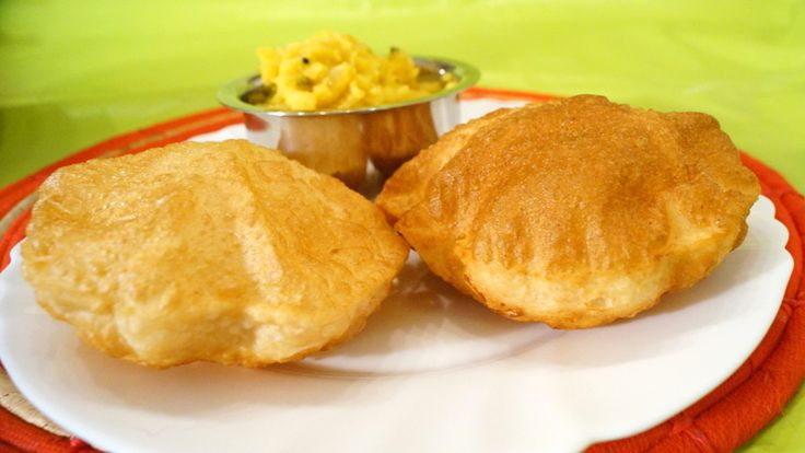 Poori is a puffed chapatti very tasty, soft and crispy. Suits good for Breakfast as well as dinner