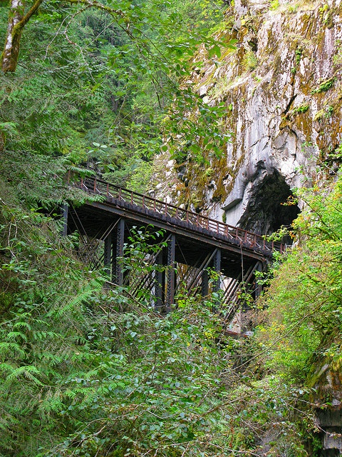 Othello Train tunnels, Hope, BC