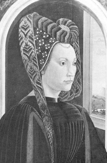Nannina de'Medici, 1448 - 1493.  Daughter of Piero di Cosimo de' Medici and Lucrezia Tornabuoni.  She was the older sister of Lorenzo the Magnificent and wife of Bernardo Rucellai.  They had four sons.