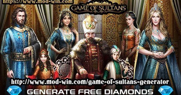 Game of Sultans Hack Mod Generator - Generate FREE Diamonds