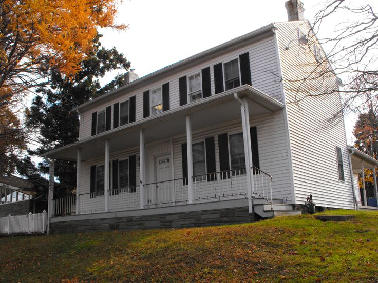 The Samantha Mill House; Home of the Nanticoke Historical Society adjacent to the Mill Memorial Library Nanticoke.