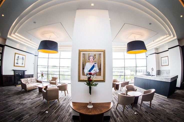 This historic room in Twickenham Stadiums West Stand provides the perfect environment for meetings or drinks receptions